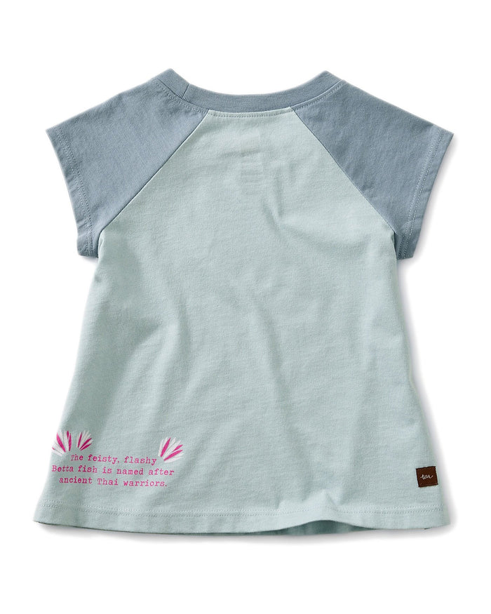 Little tea collection little girl 12-18 thailan beta baby graphic tee