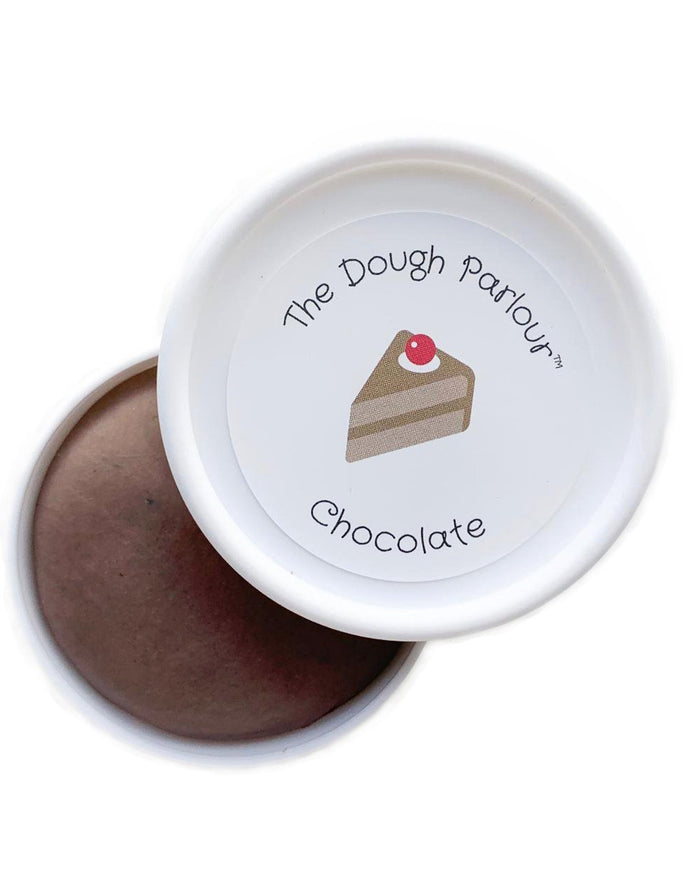 Little the dough parlour play dough in chocolate