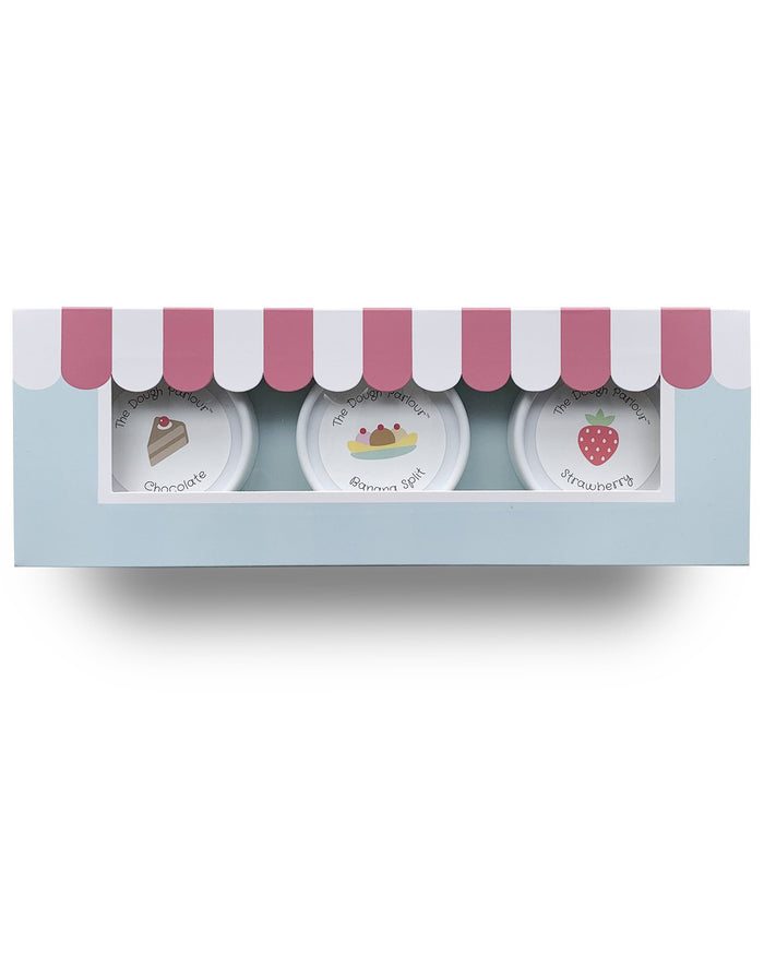 Little the dough parlour play parlour pack of 3