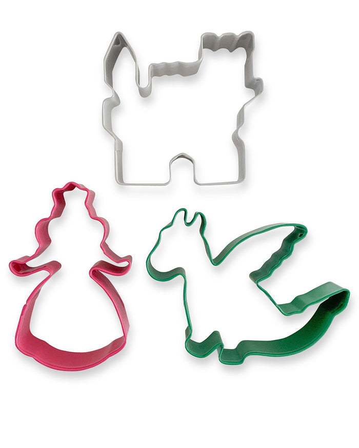Little the dough parlour play princess dough cutters