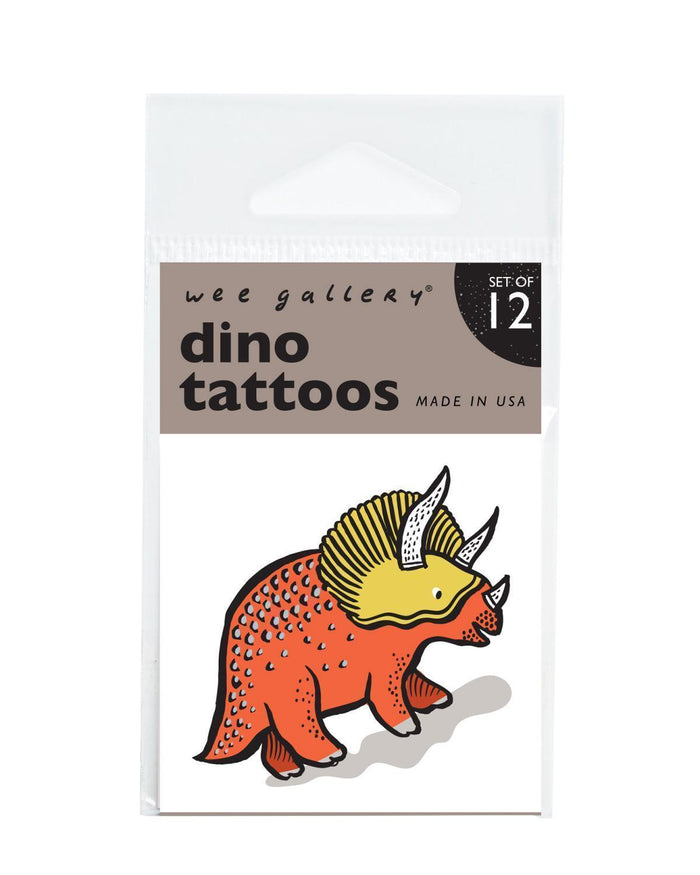 Little wee gallery paper+party dino tattoos