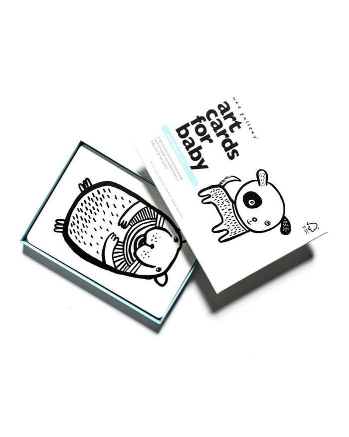 Little wee gallery play Pet Art Cards