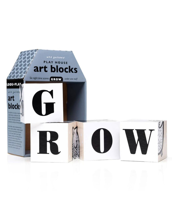 Little wee gallery play Play House Art Blocks: Grow