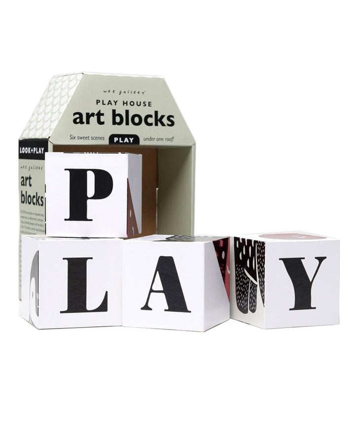 Little wee gallery play Play House Art Blocks: Play