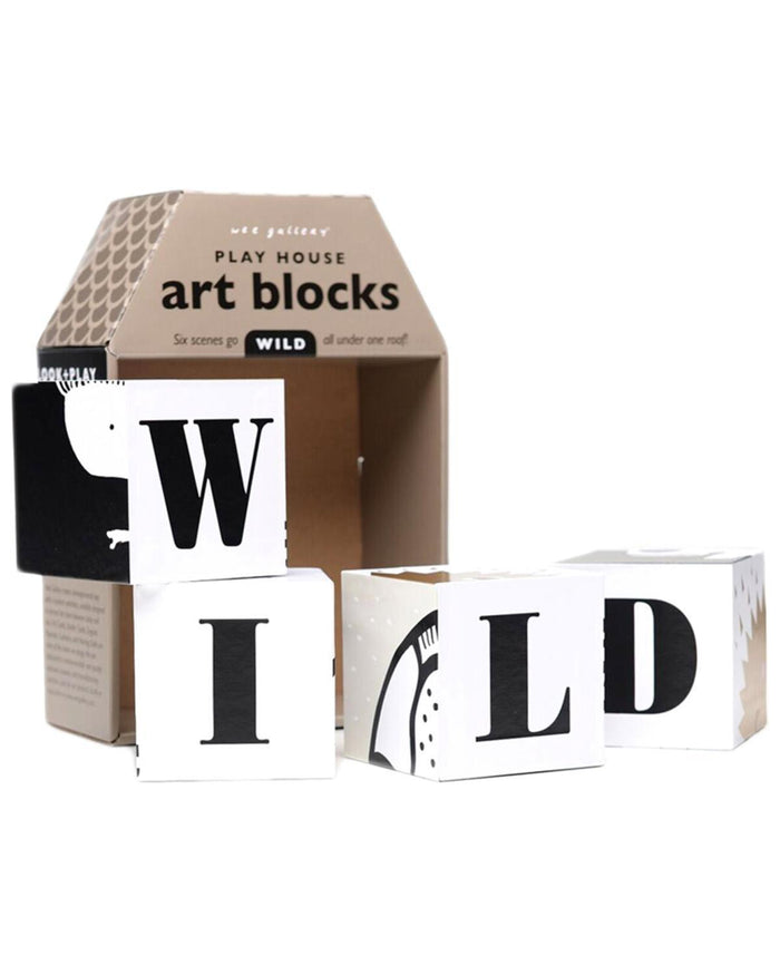 Little wee gallery play Play House Art Blocks: Wild