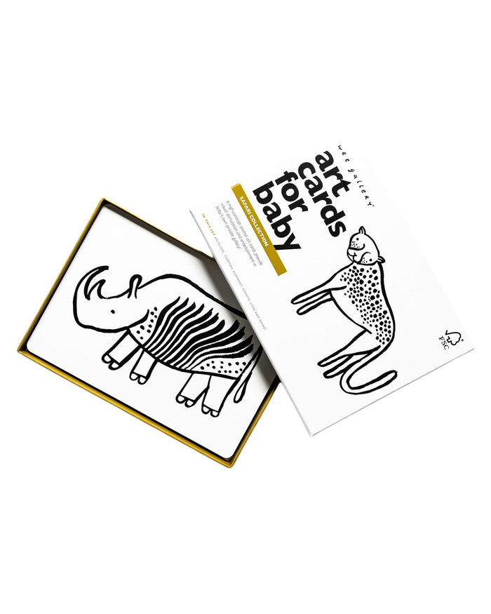 Little wee gallery play Safari Art Cards
