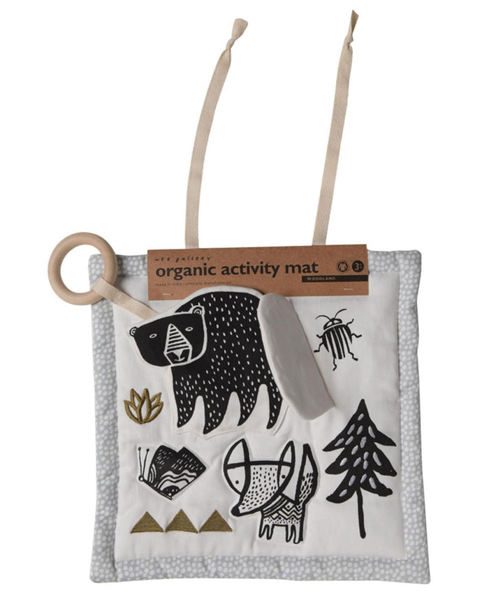 Little wee gallery play woodland activity pad