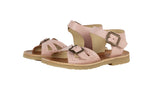 Little young soles girl pearl sandal in nude pink