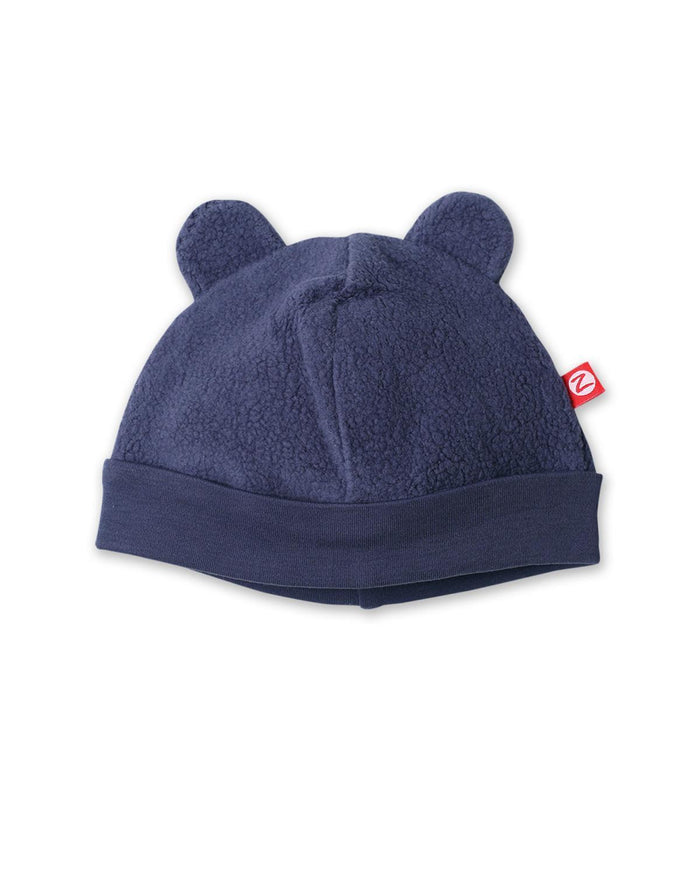 Little zutano accessories 3m Cozie Fleece Hat in Navy