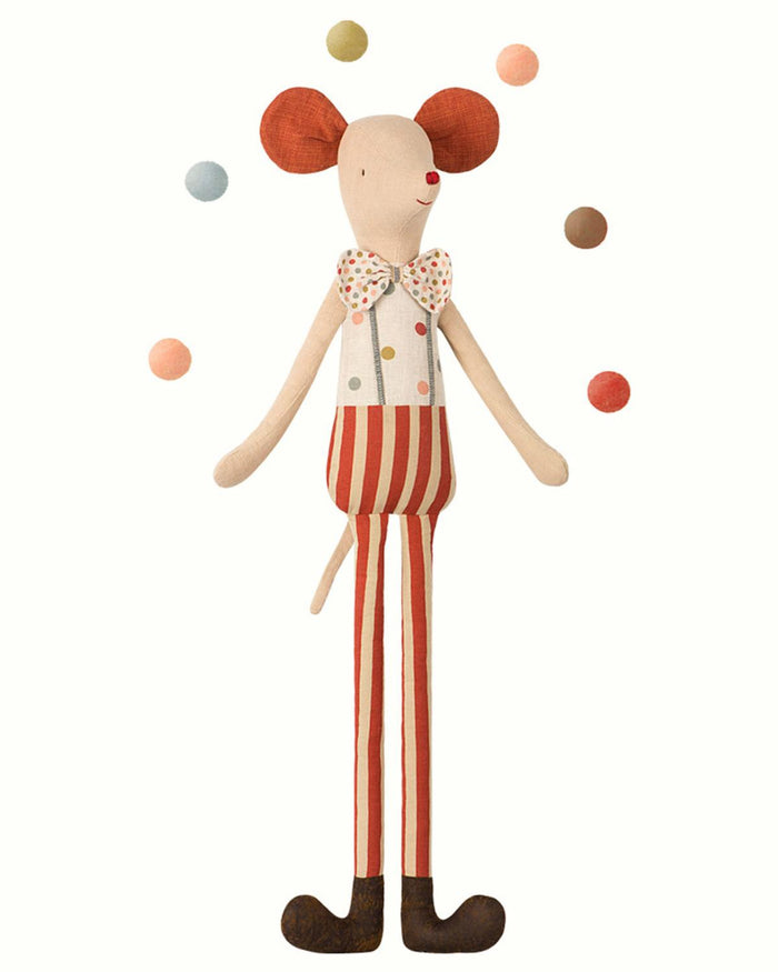 maxi mouse stilt circus clown