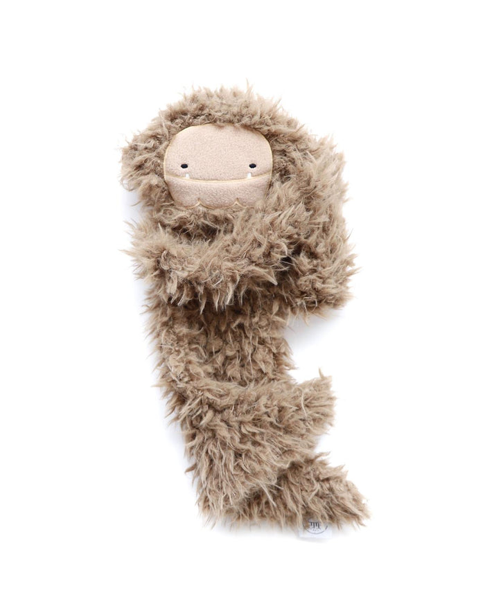 ultra plush bigfoot snuggler in brown