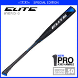 2021 Elite Hybrid (-3) BBCOR Baseball - PRO AXE HANDLE