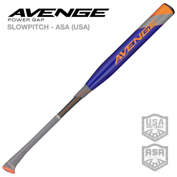 2021 Avenge Power Gap ASA (USA) Slowpitch Softball Bat