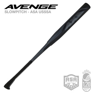 2020 Avenge Blackout ASA USSSA Slowpitch Softball Bat