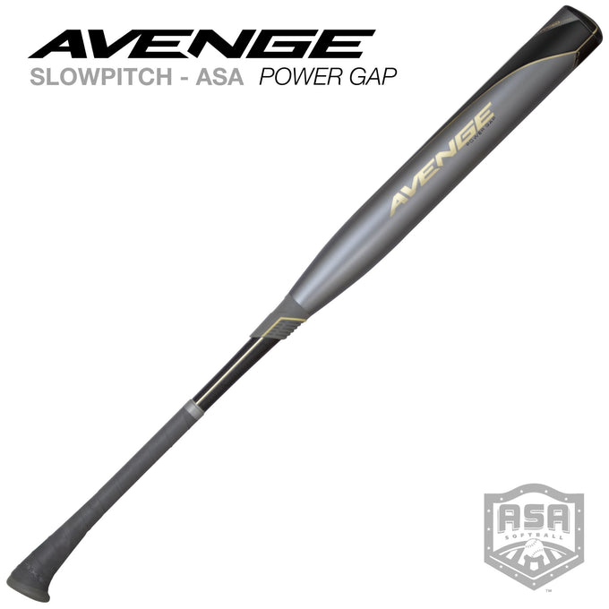 2020 Avenge Power Gap ASA Slowpitch Softball Bat
