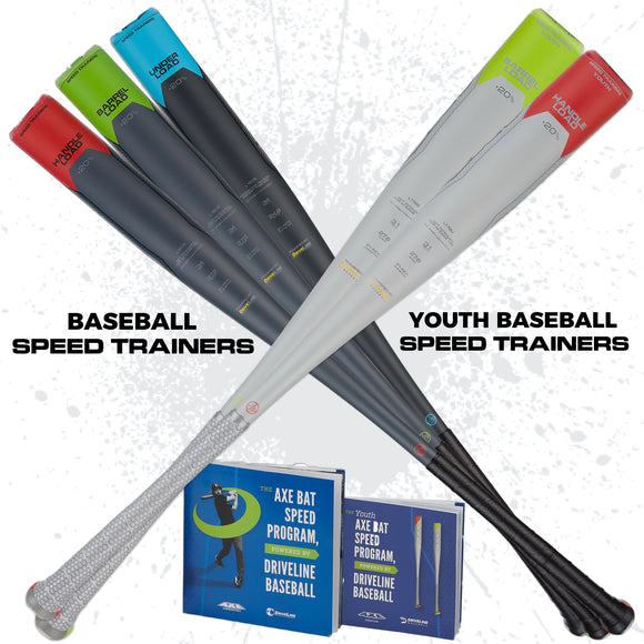 Baseball Speed Trainers + Youth Baseball Speed Trainers Bundle