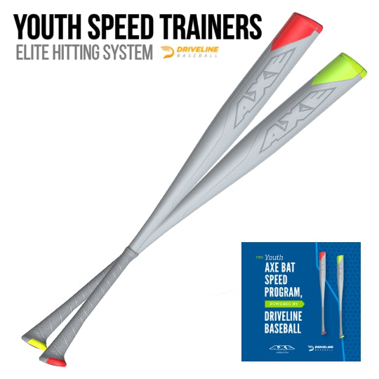 Youth Axe Bat Speed Trainers powered by Driveline Baseball