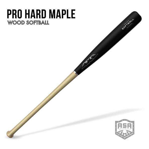 Pro Hard Maple Wood Softball Bat ASA (Ships 1/7 week*)