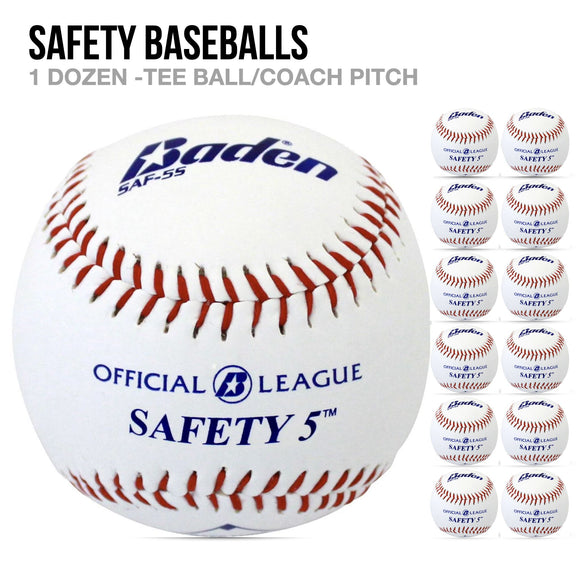 Safety Baseballs - 1 Dozen