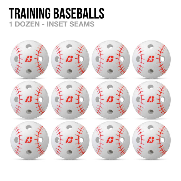Training Baseballs - 1 Dozen