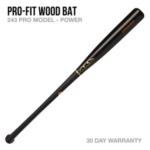 Pro-Fit 243 Model Wood Bat