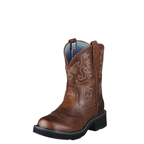 Ariat Women's Fatbaby Saddle Boot - Russet Rebel - French's Boots