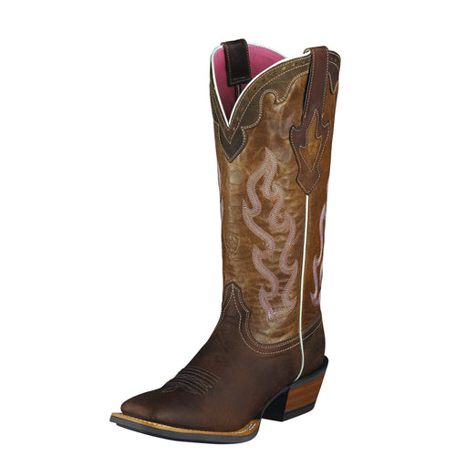 Ariat Women's Crossfire Caliente Boot - Weathered Brown - French's Boots