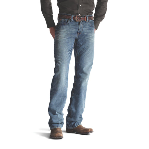 Ariat Men's M4 Low Rise Scoundrel Boot Cut Jean