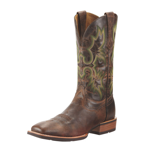 Ariat Men's Tombstone Western Boot - Weathered Chestnut - French's Boots