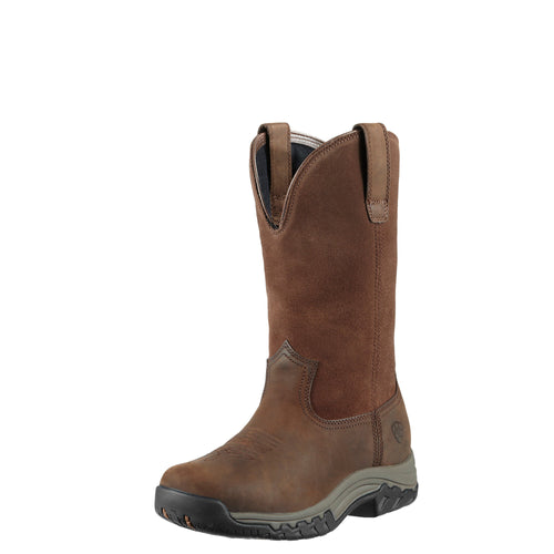 Ariat Women's Terrain Pull-on H2O Boot - Distressed Brown - French's Boots