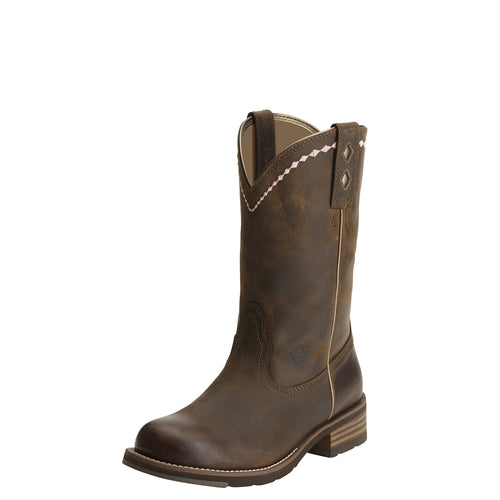Ariat Women's Unbridled Roper Boot - Distressed Brown - French's Boots