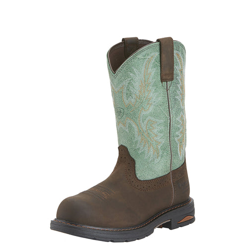 Ariat Women's Tracey H2O Composite Toe Boot - Oily Distressed Brown - French's Boots