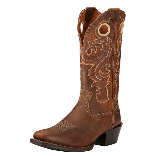 Ariat Men's Sport Square Toe Boot - Powder Brown - French's Boots