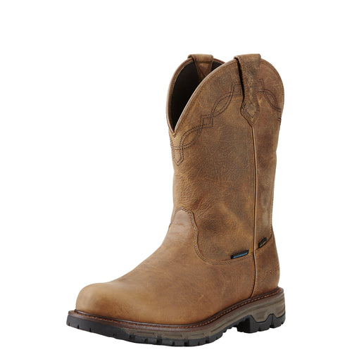 Ariat Men's Conquest H20 400g Insulated Waterproof Boot - Rye Brown - French's Boots