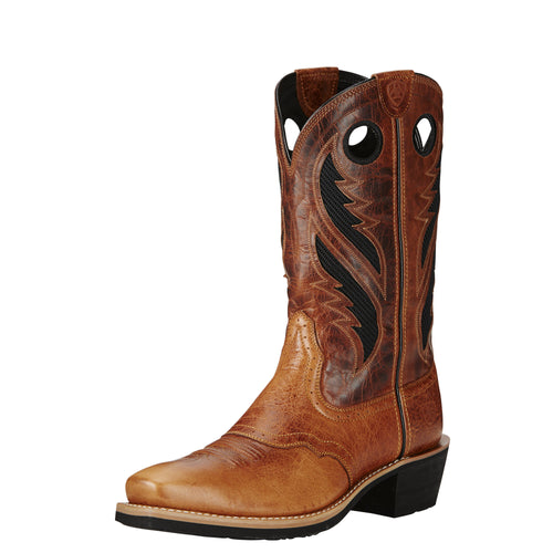 Ariat Men's Heritage Roughstock VentTek Boot - Gingersnap/Tan - French's Boots