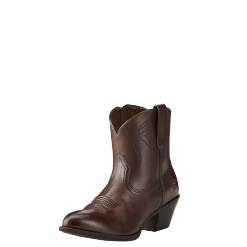 Ariat Women's Darlin Boot - Naturally Dark Brown - French's Boots