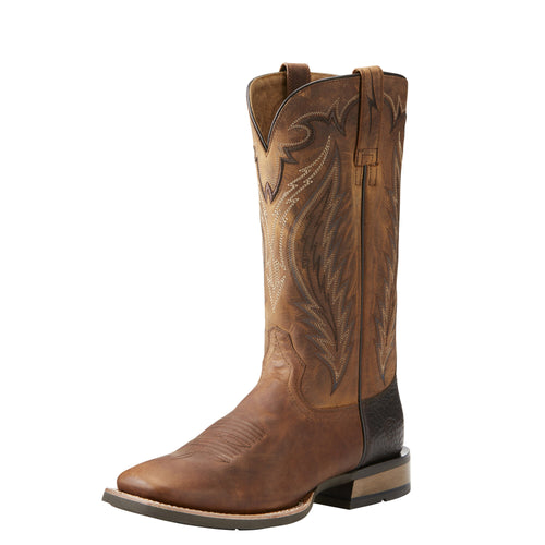 Ariat Men's Top Hand Western Boot - Trusty Tan - French's Boots