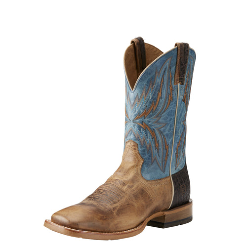 Ariat Men's Arena Rebound Boot - Dusted Wheat/Heritage Blue - French's Boots