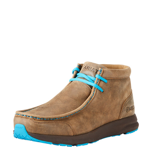 Ariat Men's Spitfire Boot - Brown Bomber/Blue