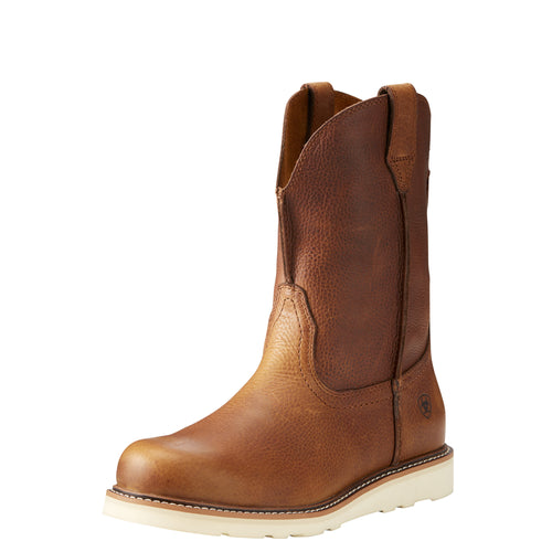 Ariat Men's Rambler Recon Round Toe Boot - Golden Grizzly - French's Boots
