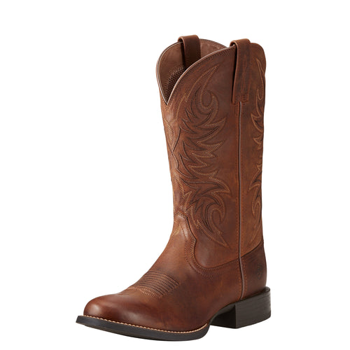 Ariat Men's Sport Horseman Boot - Rafter Tan - French's Boots