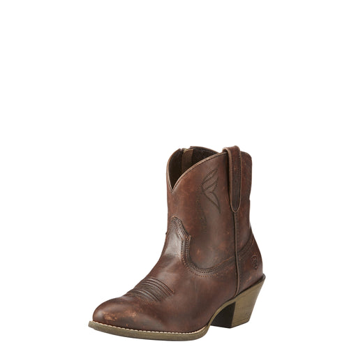 Ariat Women's Darlin Boot - Naturally Distressed Brown - French's Boots