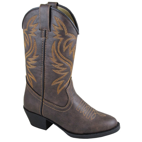 Smoky Mountain Toddler Del Rio Brown Distress Western Boot