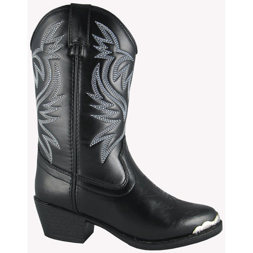 Smoky Mountain Youth Black Western Boot