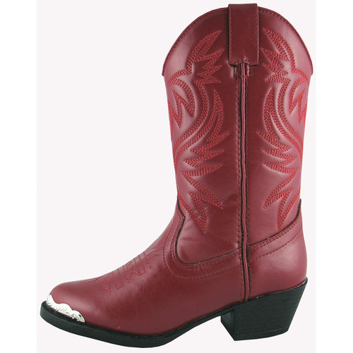Smoky Mountain Children's Red Western Boot