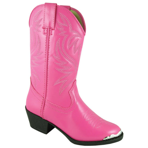 Smoky Mountain Girl's Youth Hot Pink Western Boot