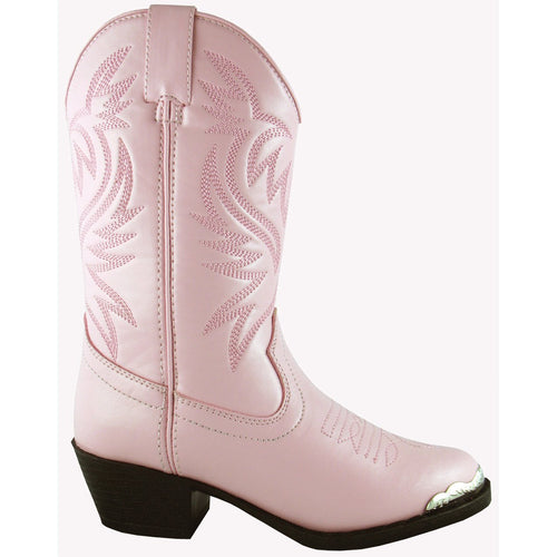 Smoky Mountain Girl's Youth Lt. Pink Western Boot