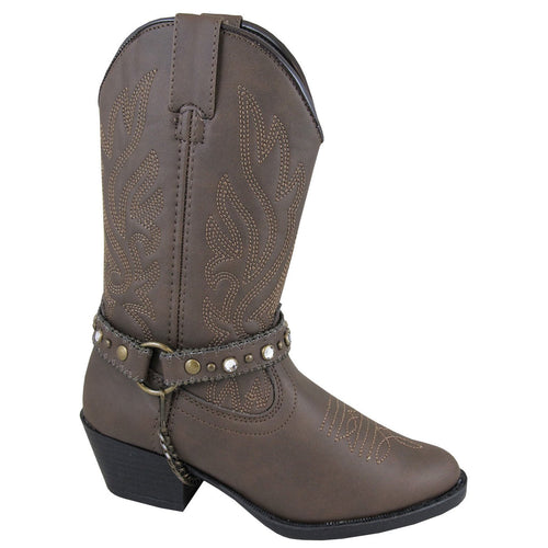 Smoky Mountain Youth Brown Western Boot