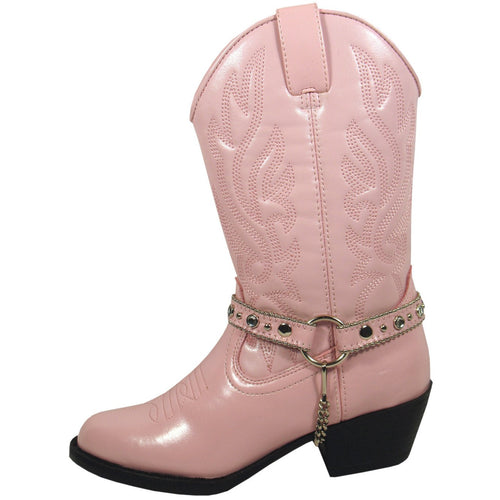 Smoky Mountain Girl's Youth Pink Western Boot