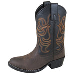Smoky Mountain Children's Monterey Brown/Black Cowboy Boot
